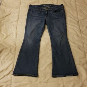 American Eagle womens kick boot jeans